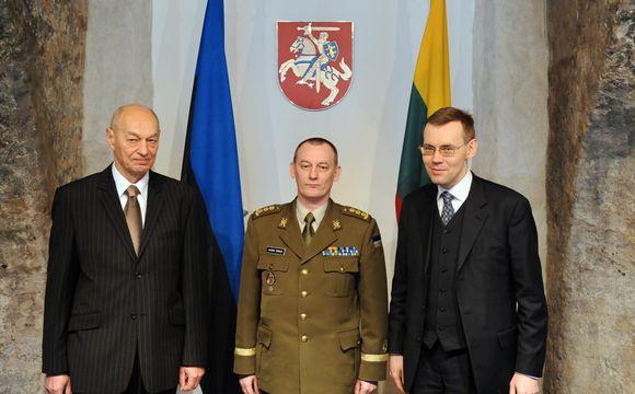 Darbą pradėjo naujasis Estijos gynybos atašė Lietuvoje.