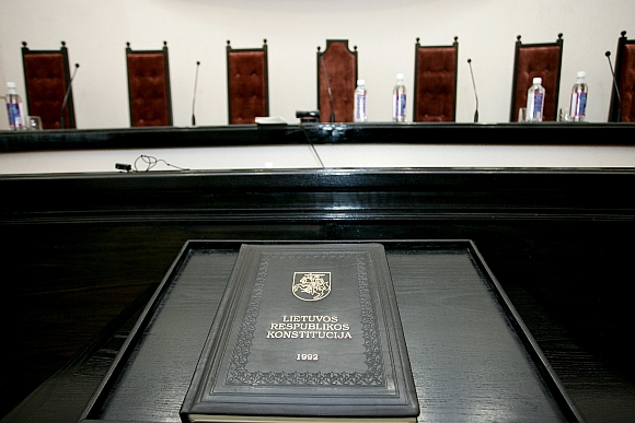 Konstitucinis Teismas ketvirtadienį nesulaukė Seimo atstovų.
