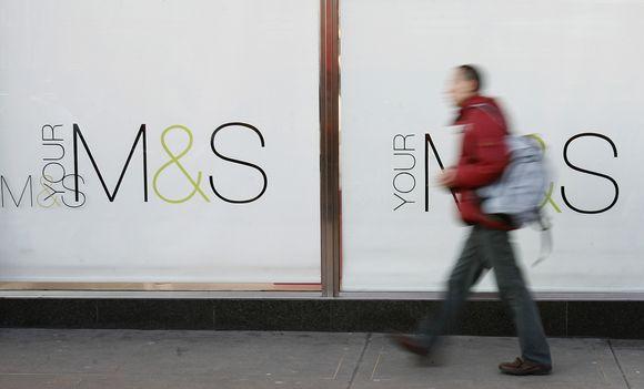 """""""Marks & Spencer"""" prekinis ženklas"""