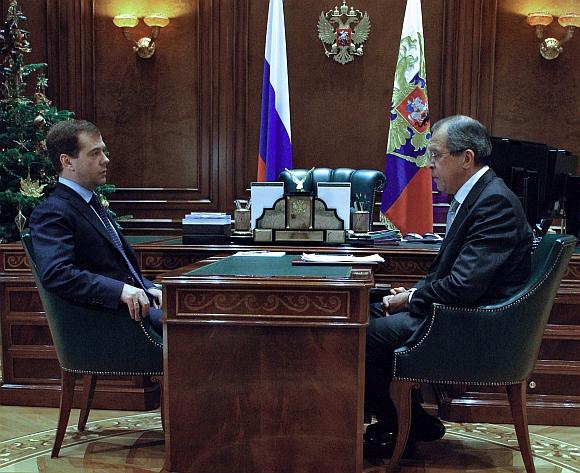Dmitrijus Medvedevas įpareigojo ministrą Sergejų Lavrovą apie Rusijos sprendimą informuoti Europą.