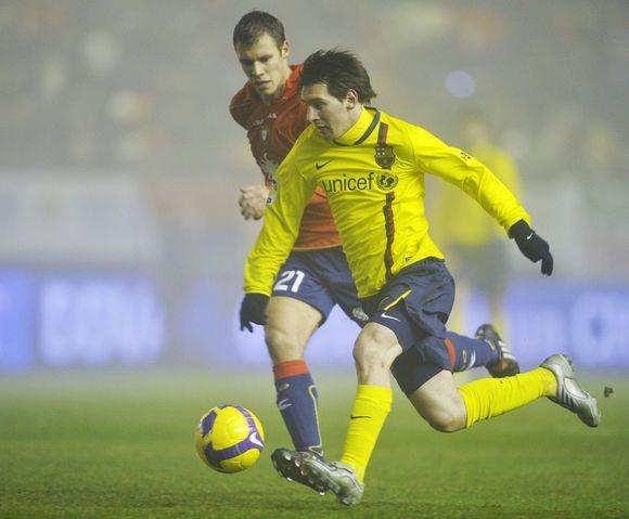 L.Messi - pergalingo įvarčio autorius
