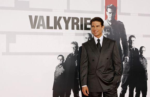Tomas Cruise'as per filmo premjerą.
