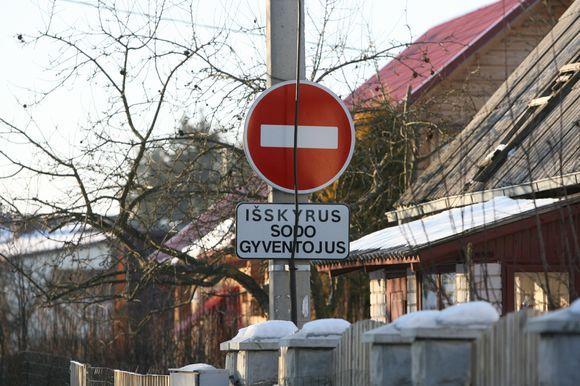Antakalnio sodai, esantys Vilniaus miesto teritorijoje, nuolatinių gyventojų apgyvendinti daugiau nei 50 proc.
