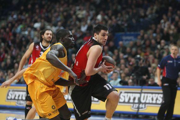 M.Bjelica buvo vienas pagrindinių pergalės kalvių - pelnė 18 taškų
