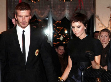 Victoria ir Davidas Beckhamai
