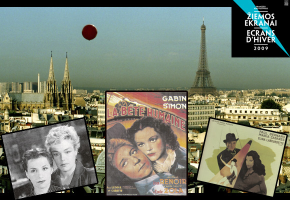 """Prancūzų kino festivalis """"Žiemos ekranai"""""""
