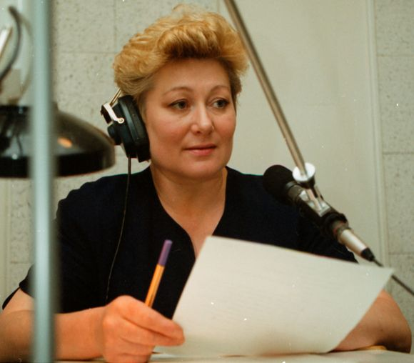 Diktorė Regina Jokubauskaitė
