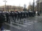 A.Opulskio ir K.Juškos nuotr./Mitingas ir riaušės prie Seimo sausio 16 d.