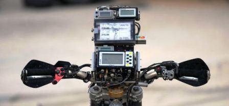 "AFP/""Scanpix"" nuotr./Mindaugo Slapšio motociklas"