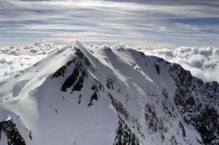 Mont Blanc – aukšiausia Europos viršukalnė (4807metrai)