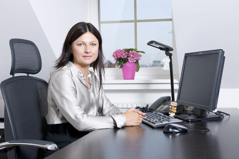 Foto naujienai: Agnė Zuokienė: kabinetą puošia mielos smulkmenos