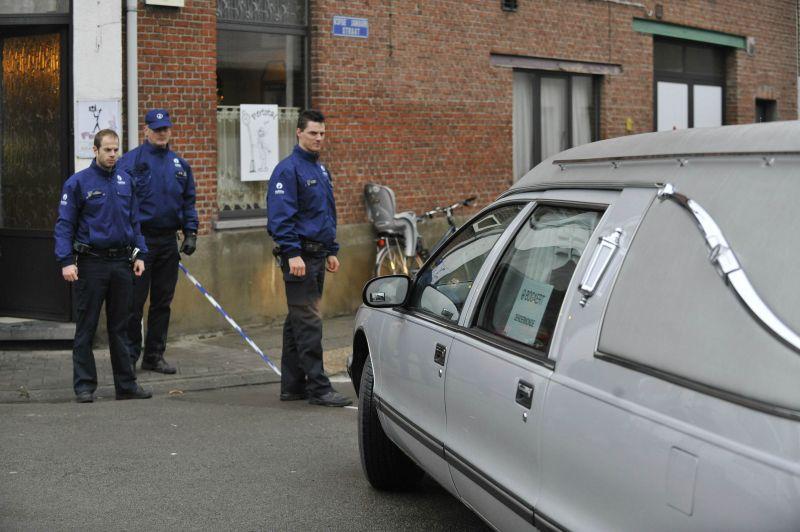 Policijos pareigūnai įvykio vietoje, sausio 22 d. 2009 m.