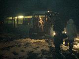 Gretos M./15min.lt skaitytojos nuotr./Klaipėdos rajone nuo kelio nuslydęs autobusas