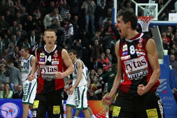 M.Lukauskis pirmą kartą nulėmė rungtynių baigtį