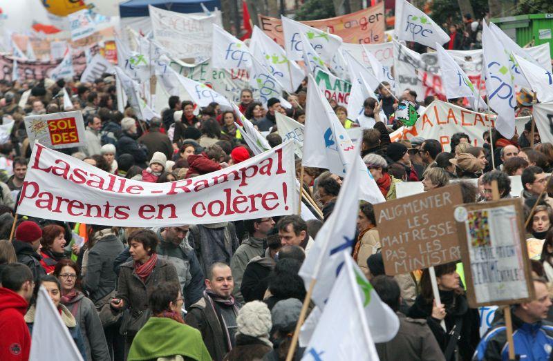 Prancūzai savo protestais pagarsėję visame pasaulyje.