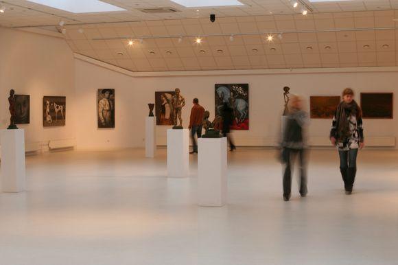 Klaipėdos dailės parodų rūmuose pristatomi keli projektai.