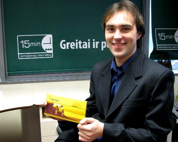 Tomas Aukštikalnis, Fotopolicijos prizininkas