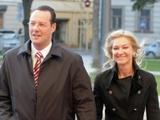 Šarūno Mažeikos/BFL nuotr./T.Kučinskas su žmona Lina atvyksta į Nacionalinės Pažangos Premijos 2008 Laureatų paskelbimo ir apdovanojimo ceremoniją Vilniaus Universitete.