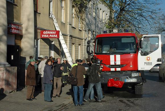 Bute Pylimo g. įkalintą prancūzą išgelbėjo ugniagesiai
