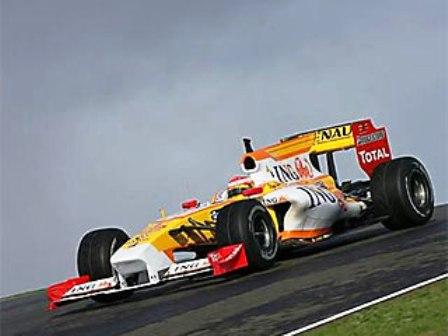 """Naujasis """"Renault"""" bolidas R29"""