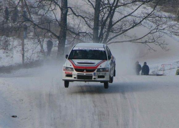 Tomo Balžeko/15min.lt nuotr./Winter Rally 2009