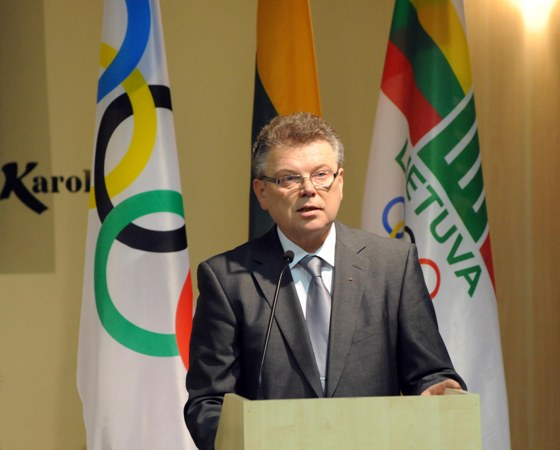 LTOK prezidentas Artūras Poviliūnas