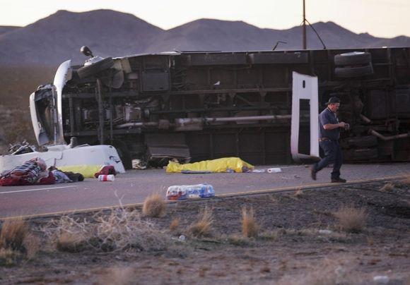 Autobuso avarija Arizonoje