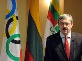 Alfredo Pliadžio nuotr./Lietuvos tautinio olimpinio komiteto sesija