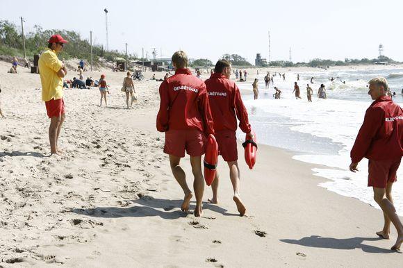 Šiemet Neringoje planuojama suburti profesionalią gelbėtojų komandą.
