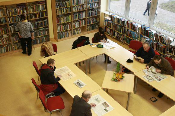 Abiejuose miesto bibliotekose užregistruota per 50 tūkst. skaitytojų.
