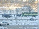15min.lt skaitytojo Romo G. nuotr./Prie Seimo nuo pat ryto budi policijos pareigūnai.