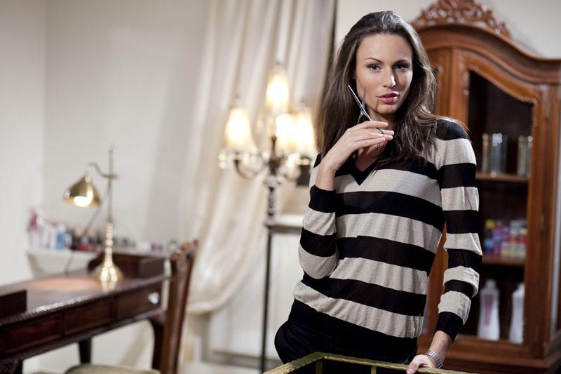 Foto naujienai: Vaida Židonytė: į naują butą