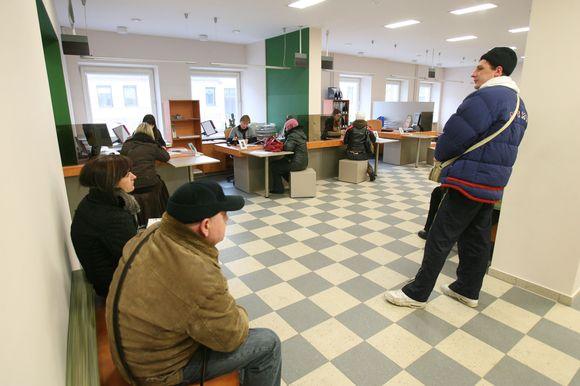 Darbo biržoje teikiamos paslaugos nemokamos, todėl pagalbos pirmiausia derėtų ieškoti būtent čia.