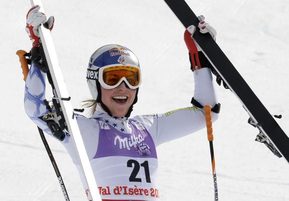 L.Vonn laimi jau antrą pasaulio čempionato aukso medalį