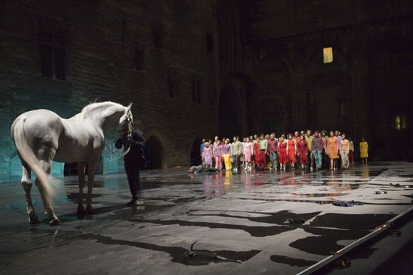 """Romeo Castellucci pirmoji trilogijos dalis """"Pragaras"""""""