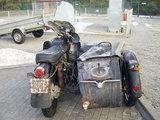 VSAT nuotr./Pasieniečių sulaikytas motociklas