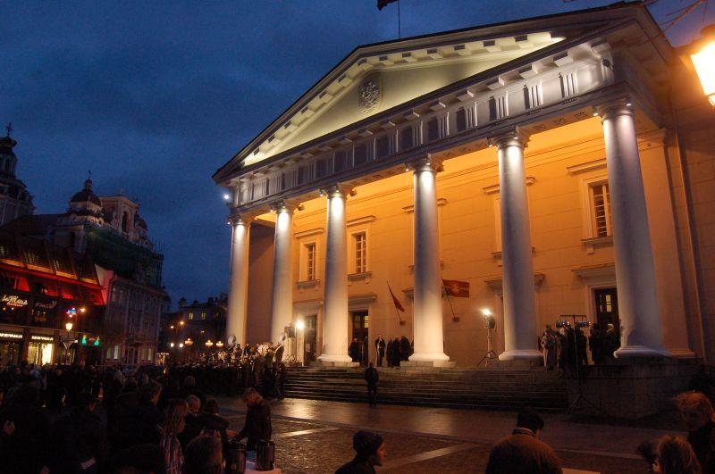 Tikėtina, kad registruoti santuokas įvairiose Vilniaus reprezentacinėse vietose miestiečiai galės jau nuo šios vasaros.