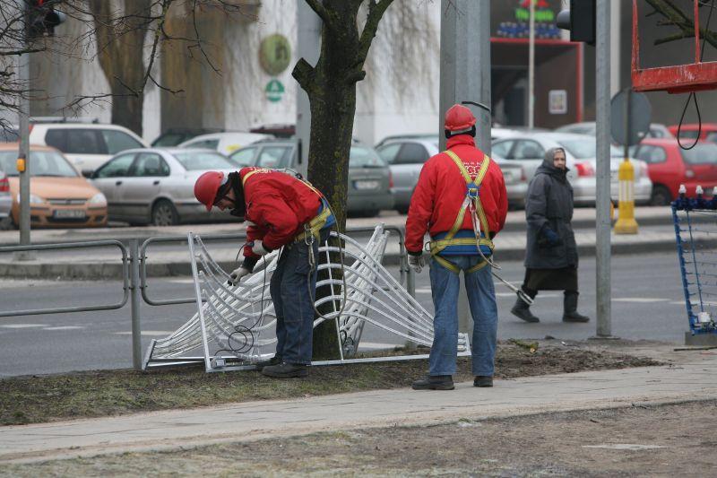 Naujieji gatvių papuošimai vilniečius ir miesto svečius džiugins per valstybines šventes.