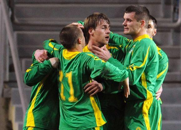 Lietuvos futbolininkai tikino, kad varžovai apie futbolą net negalvojo