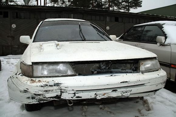 Perdažytas automobilis