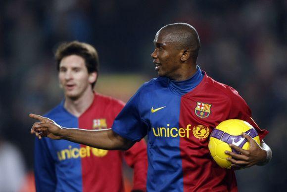S.Eto'o tikisi tapti vienu geriausiai apmokamų pasaulio futbolinininku