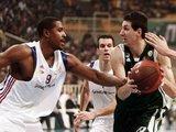 """AFP/""""Scanpix"""" nuotr./Atėnų """"Panathinaikos"""" –  Romos """"Lottomatica"""""""