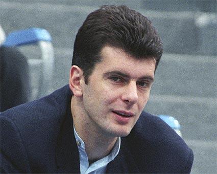Turtingiausias Rusijos žmogus M.Prochorovas
