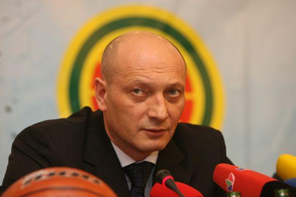 R.Butautas šią vasarą užsimojo keisti rinktinės taktiką