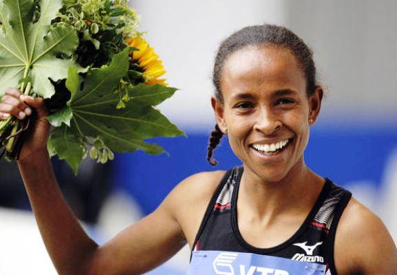 Etiopijos bėgikė Meseret Defar
