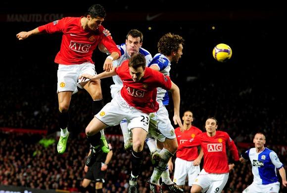 """""""Manchester United"""" įveiukė """"Blackburn Rovers"""", tačiau praliedo įvartį"""
