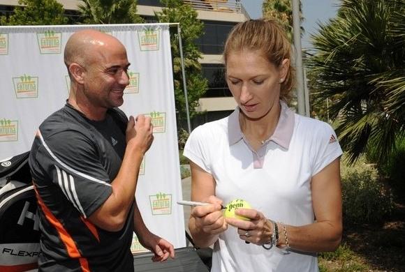 Andre Agassi ir Steffi Graf