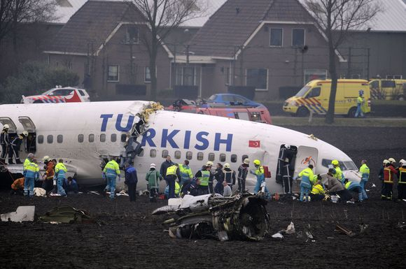 Nukritęs lėktuvas