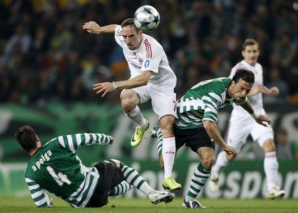F.Ribery nugalėtojams pelnė du įvarčius.
