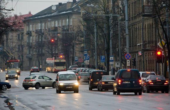 Transporto judėjimas Vilniaus gatvėse